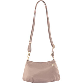 Pacsafe Citysafe CX Crossbody Bag Women Small Blush Tan